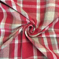 English Tartan Red